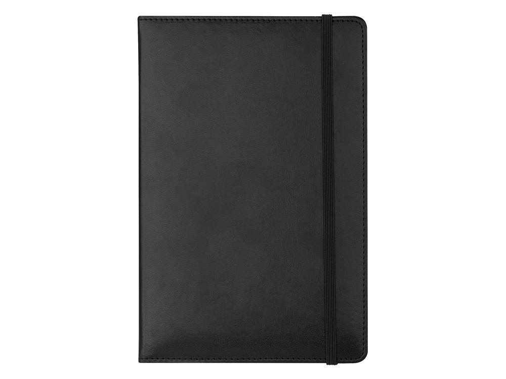 Anteckningsbok Balmain Leather Black A5 – utan gravyr