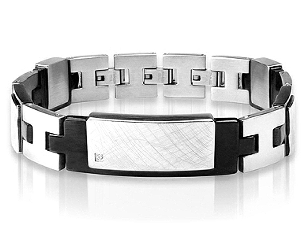 Armband Inori Identity Steel Black ? utan gravyr