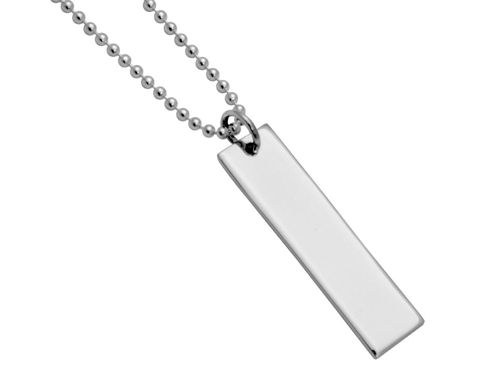Halsband Athena Silver – utan gravyr