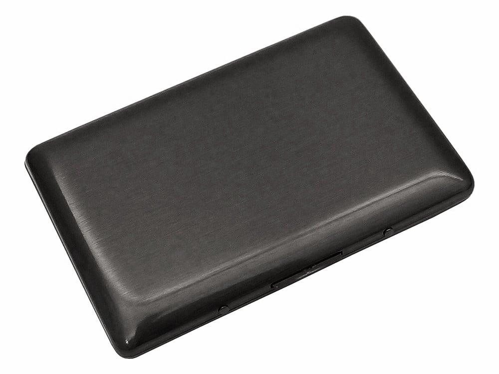 Korthållare Carrier Slim Steel Smoke – utan gravyr
