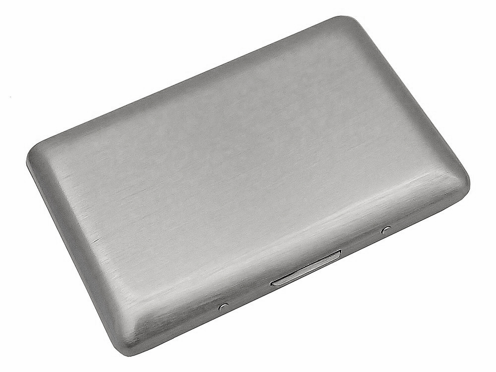 Korthållare Carrier Slim Steel – utan gravyr