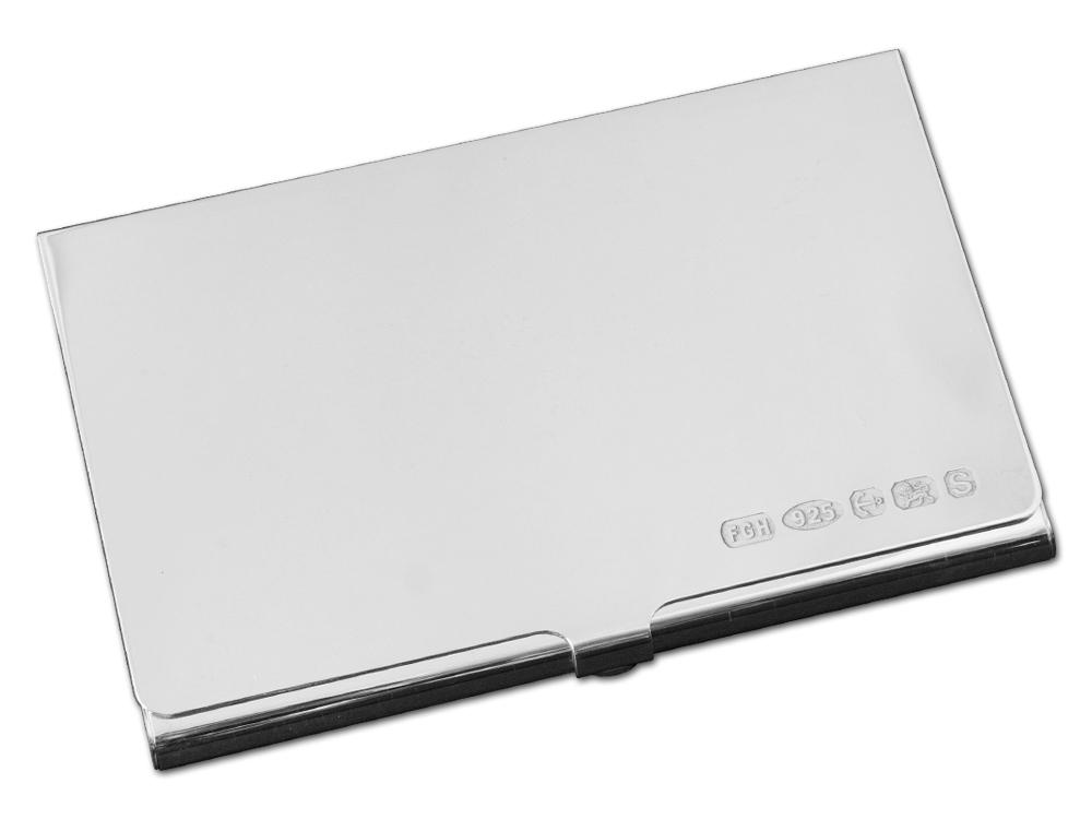 Korthållare Classic Silver – utan gravyr