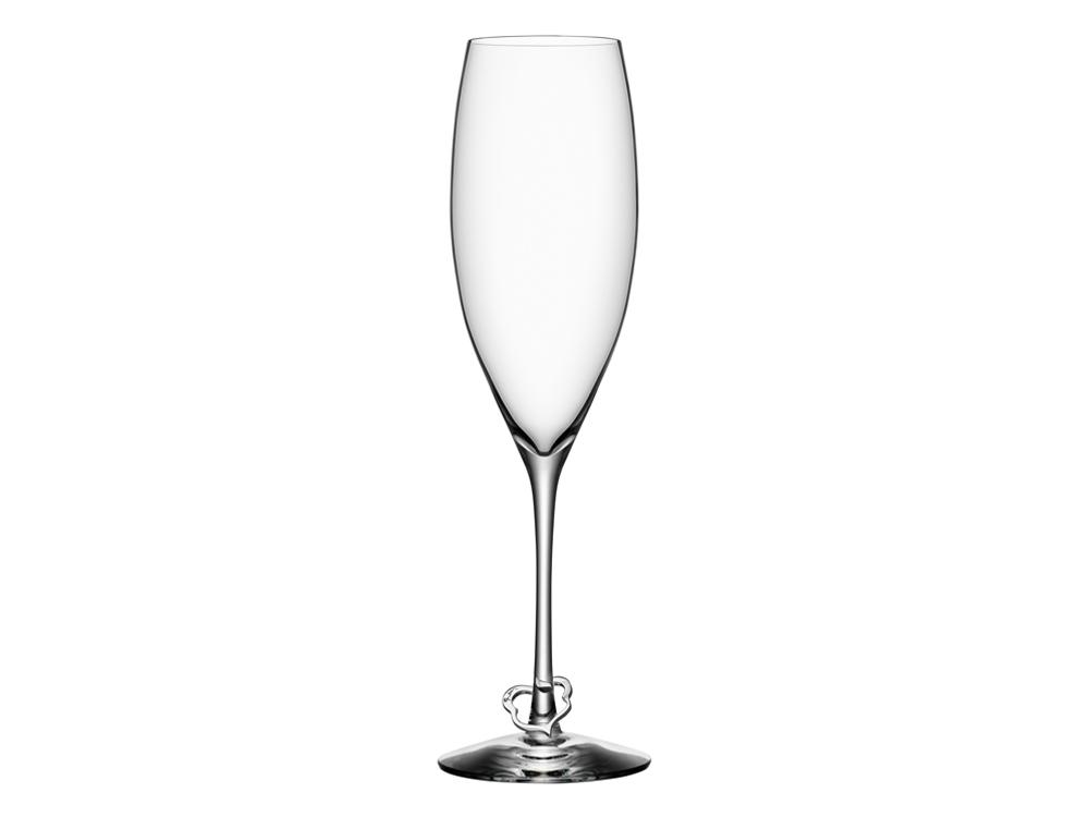 Champagneglas Orrefors Efva Attling Crazy Heart 2 st – utan gravyr
