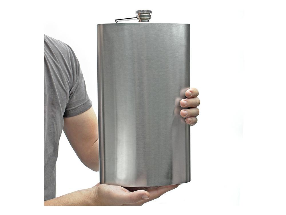 Stor Fickplunta Steel Flask Jumbo – utan gravyr