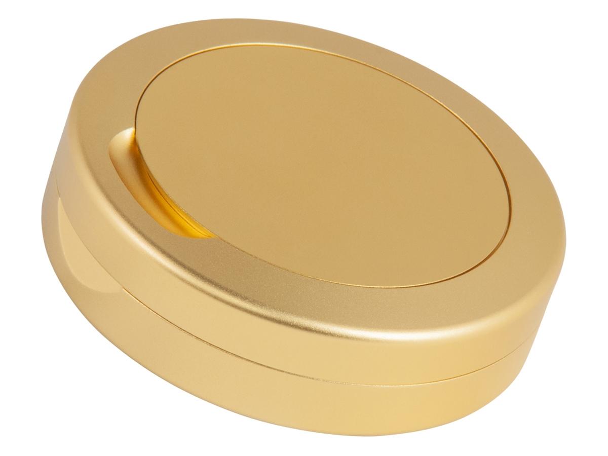 Snusdosa Dus Slim Vintage Alu Gold – utan gravyr