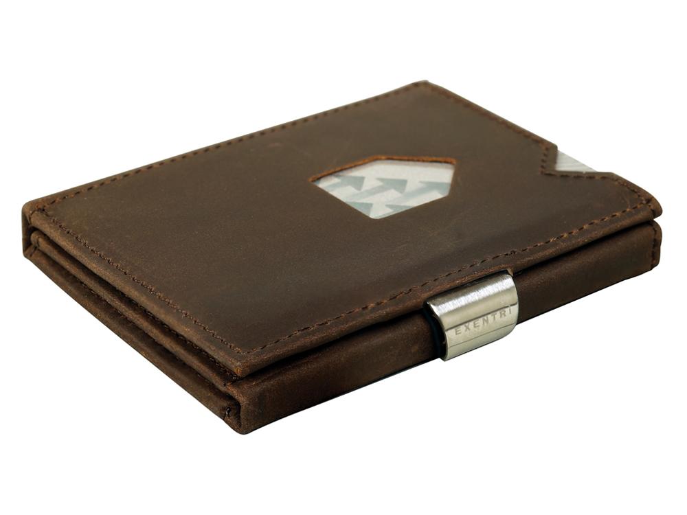 Kortplånbok Exentri Nubuck - utan gravyr