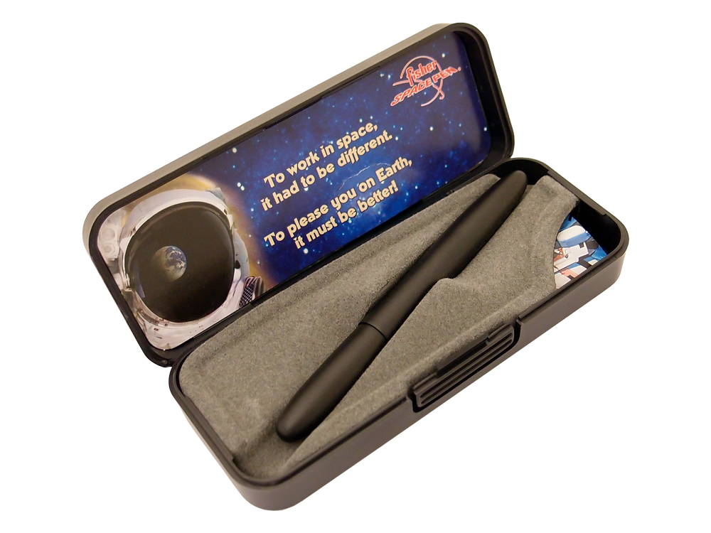 Penna Fisher Space Pen Bullet Black Matte ? utan gravyr