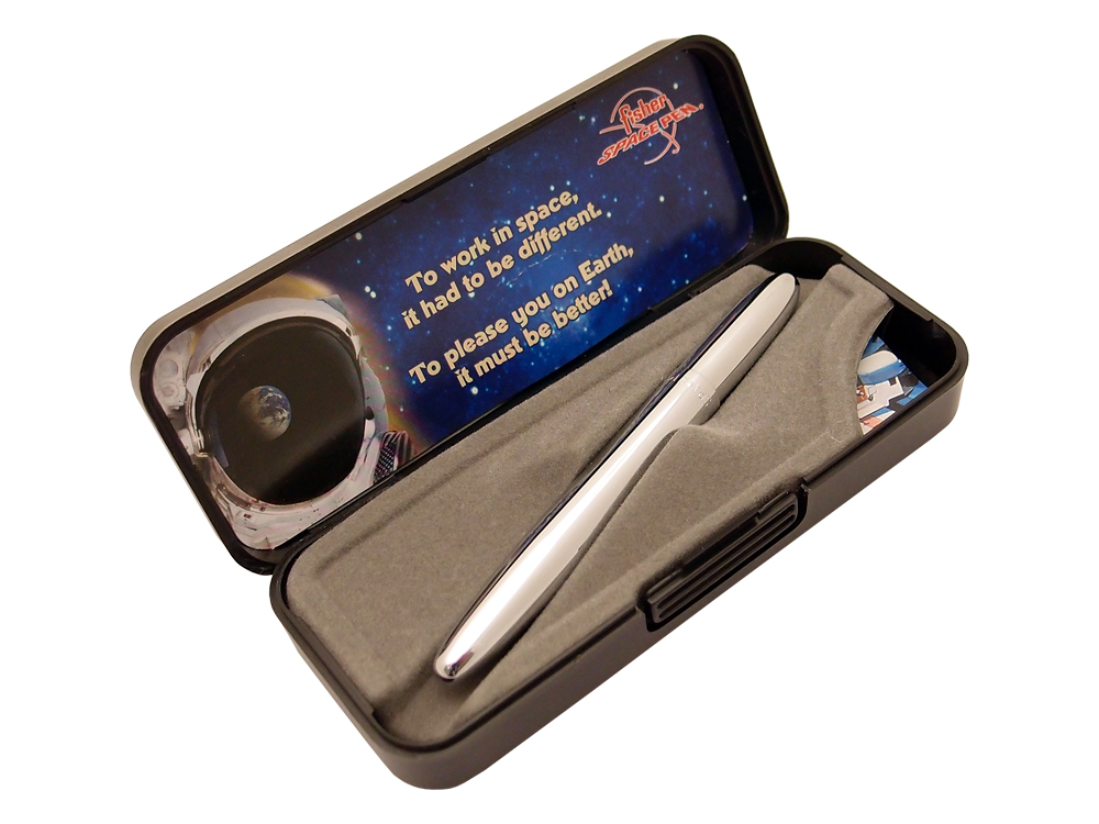 Penna Fisher Space Pen Bullet Chrome – utan gravyr