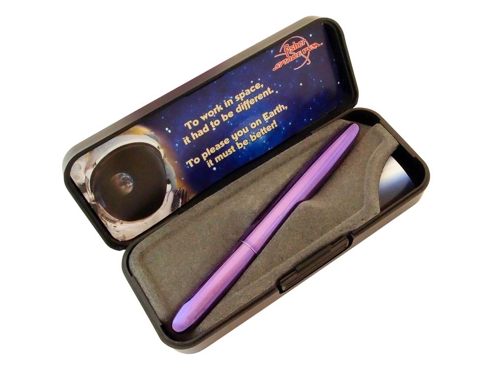 Penna Fisher Space Pen Bullet Purple Passion ? utan gravyr