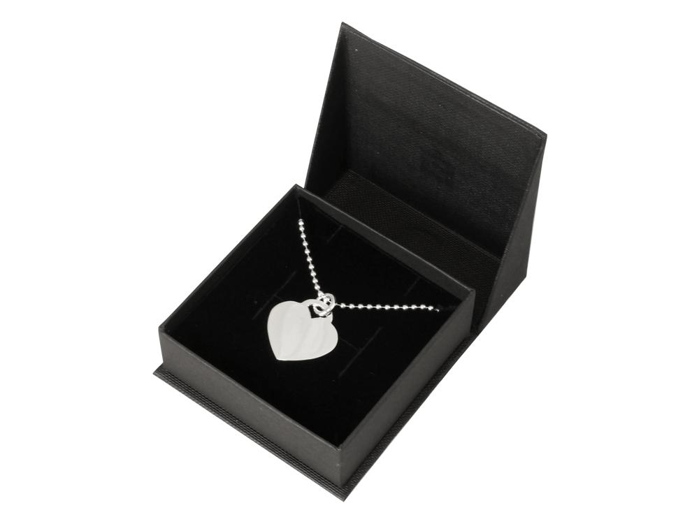 Halsband Hjärta Silver Elise ? utan gravyr