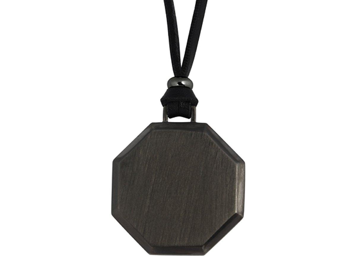 Halsband Octagon Gun Metal ? utan gravyr