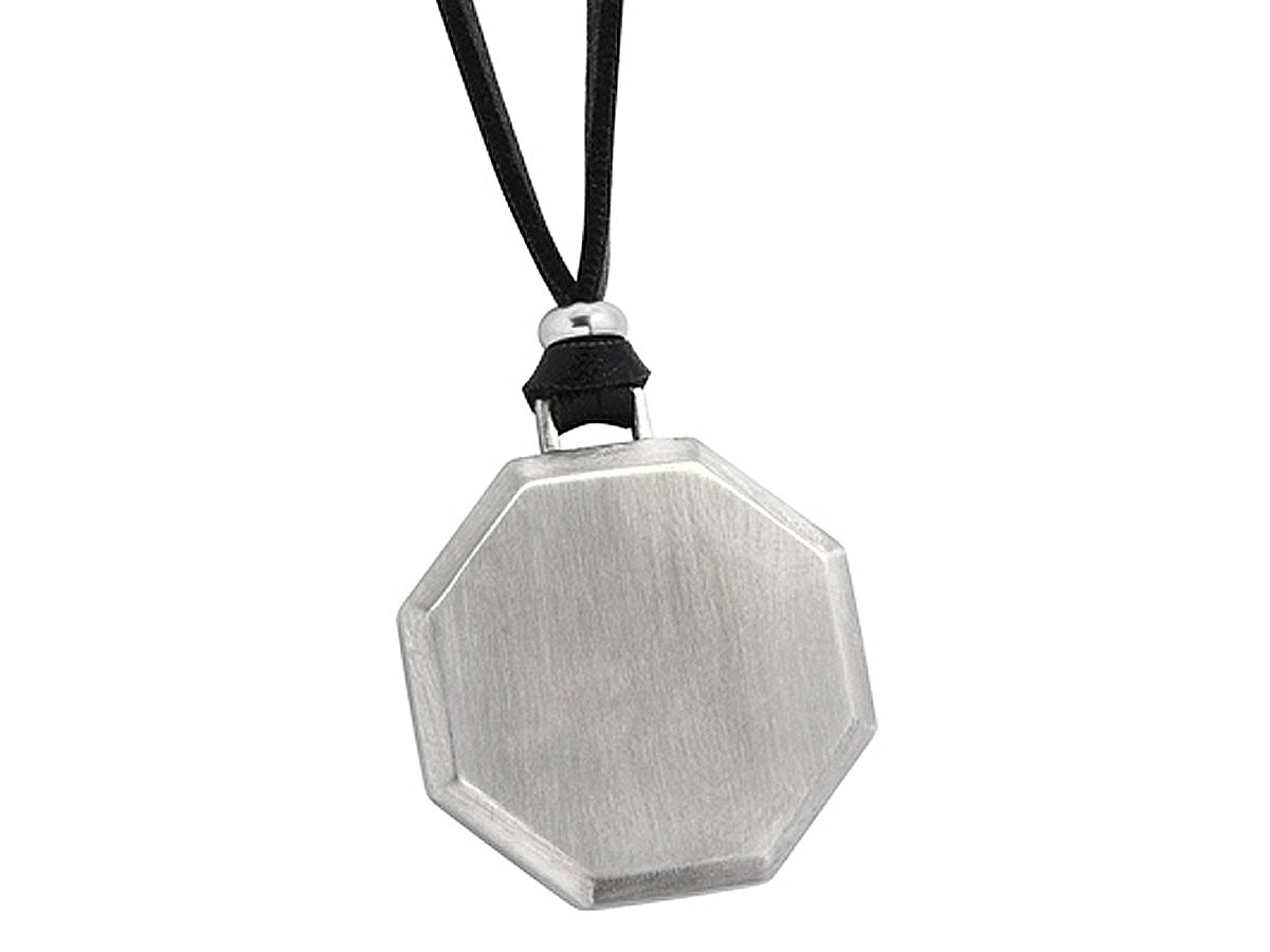 Halsband Octagon Steel ? utan gravyr