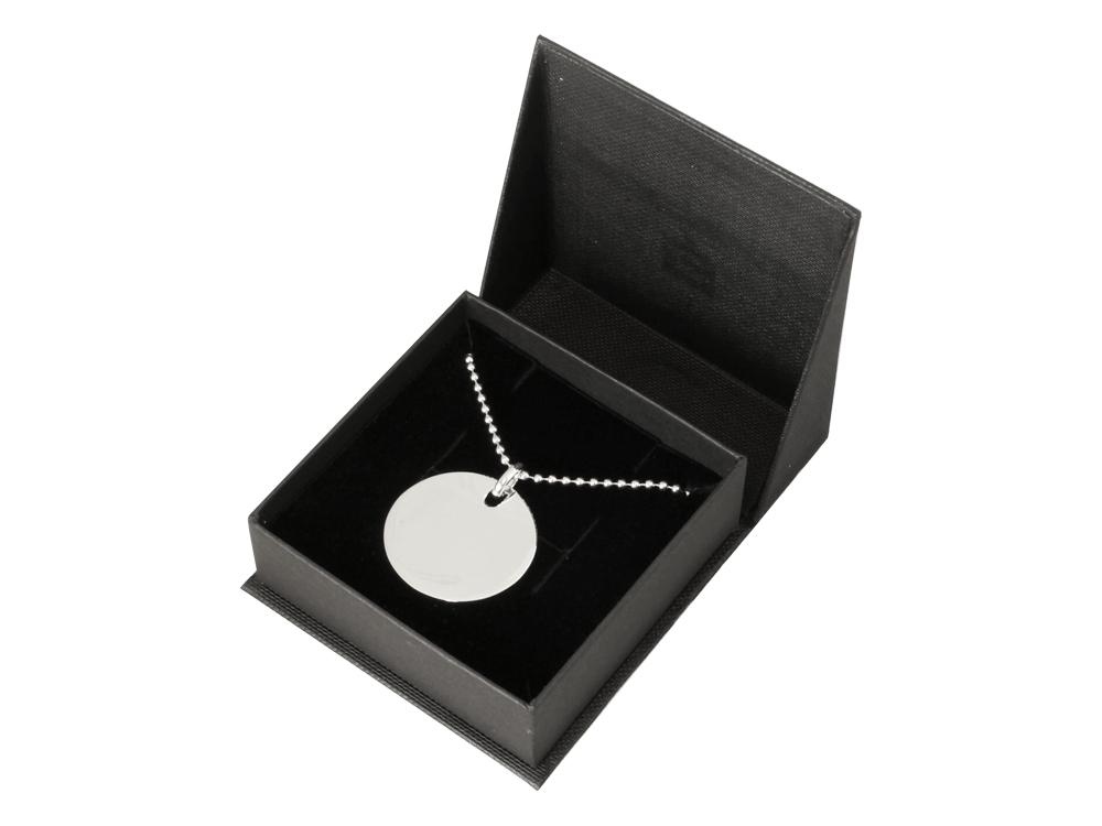 Halsband Silver Circle ? utan gravyr