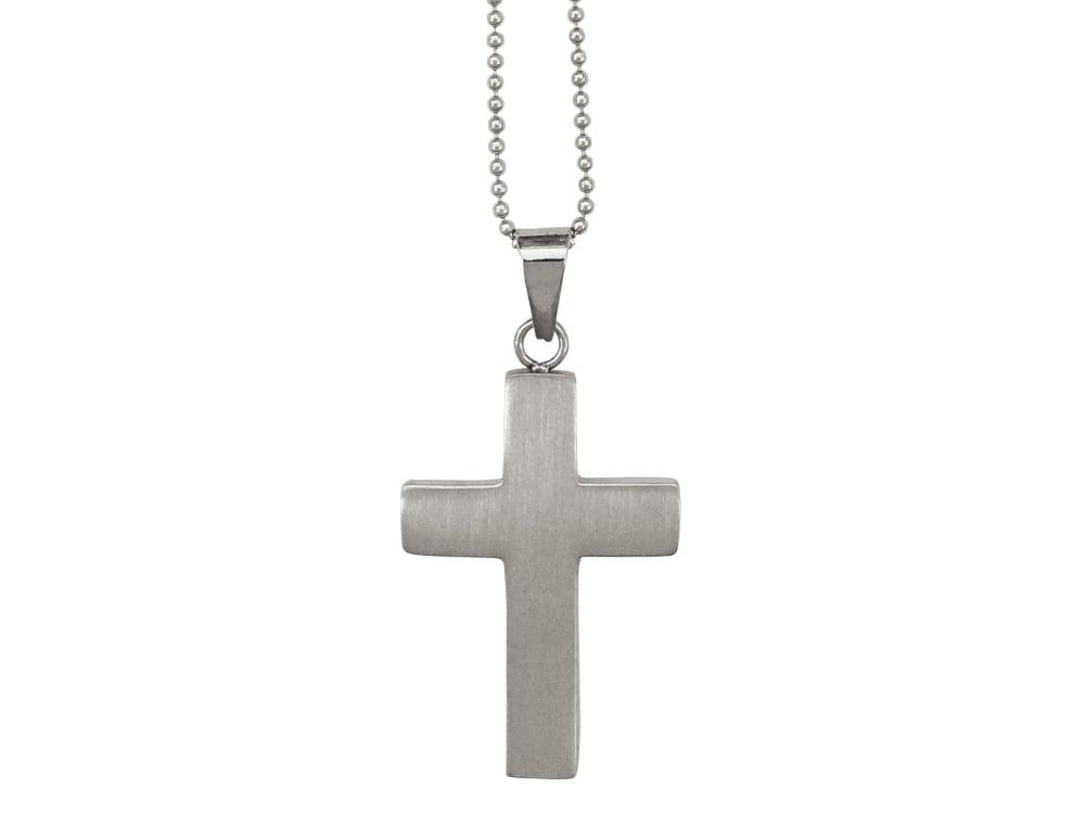 Halsband Kors Small - utan gravyr