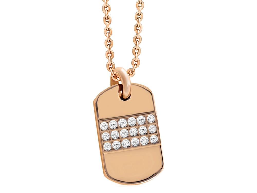 Halsband Inori Hollywood Rose Gold ? utan gravyr