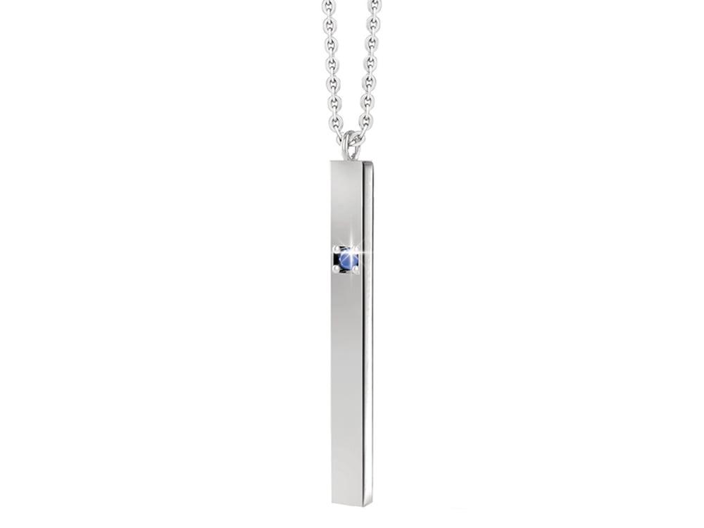 Halsband Inori Devotion Steel - utan gravyr