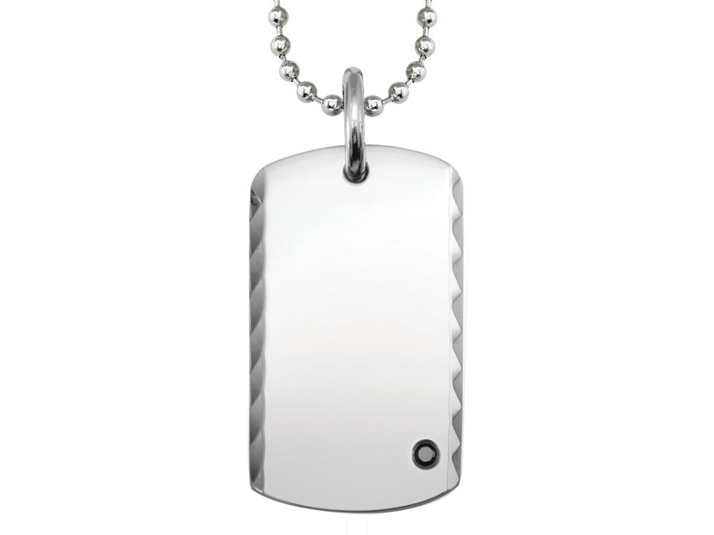 Halsband Inori Edge Steel - utan gravyr
