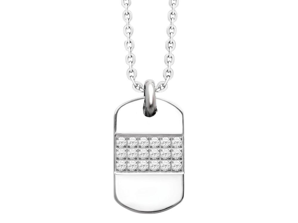 Halsband Inori Hollywood Steel - utan gravyr