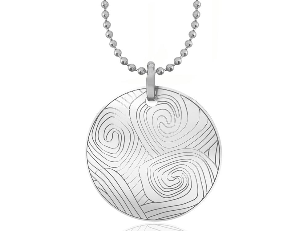 Halsband Inori Pipeline Steel - utan gravyr