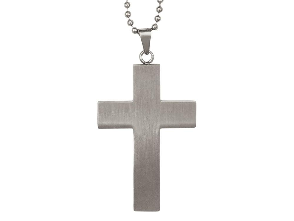 Halsband Kors Herr - utan gravyr