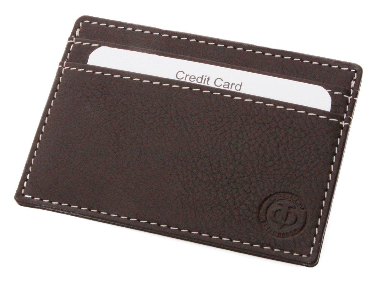 Korthållare Herr Orskov Leather Chocolate - utan gravyr