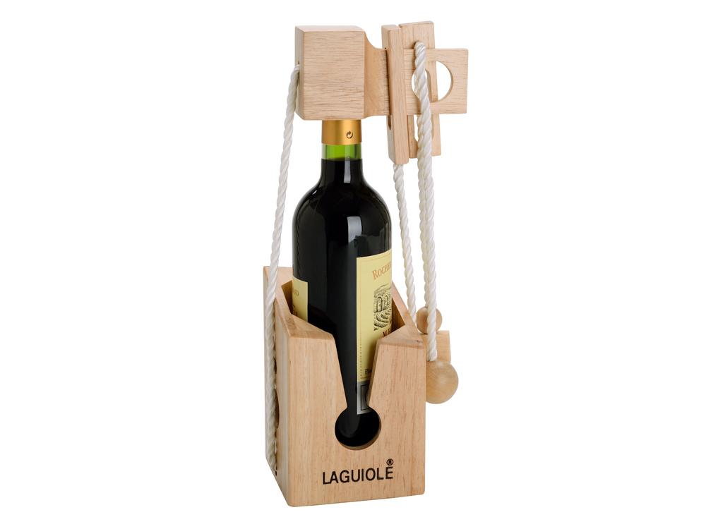 Laguiole Brain Teaser Wine Bottle – utan gravyr