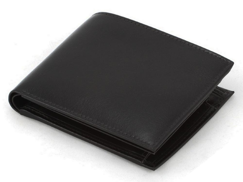 Plånbok Mauro Conti Leather Black ? utan gravyr