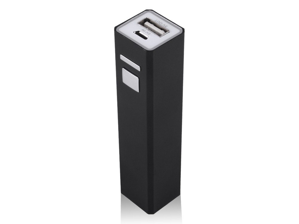 Powerbank Mini Smart Charger Black – utan gravyr