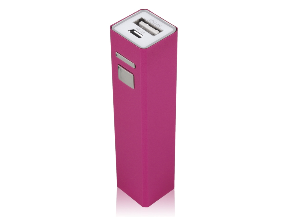 Powerbank Mini Smart Charger Pink – utan gravyr
