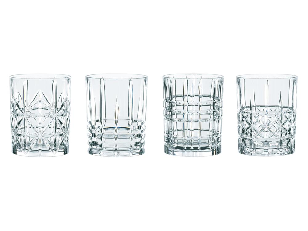 Whiskyglas Nachtmann Highland Tumbler 4 st – utan gravyr