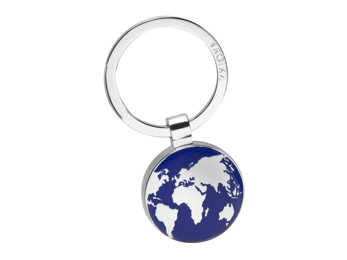 Nyckelring Jordglob Troika Around The World – utan gravyr