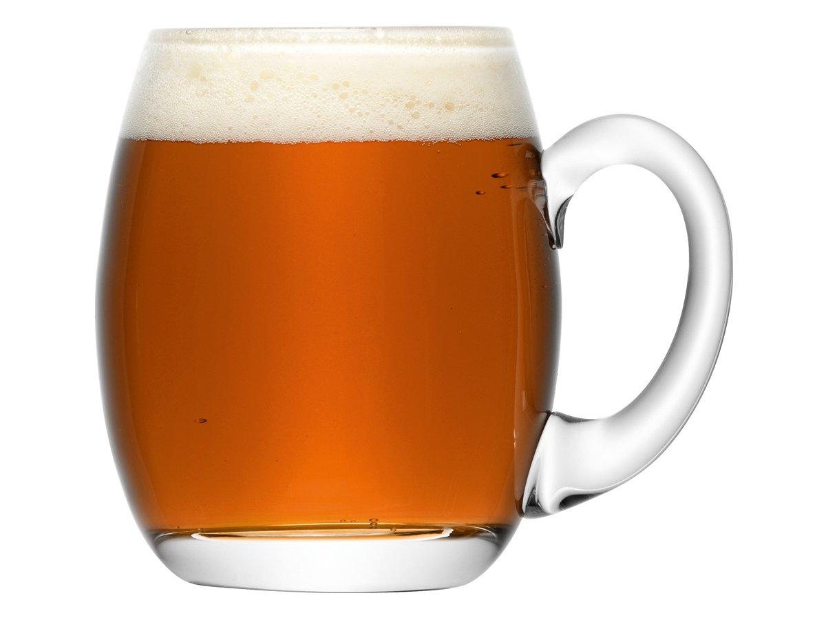 Ölsejdel LSA Bar Beer Tankard Round - utan gravyr