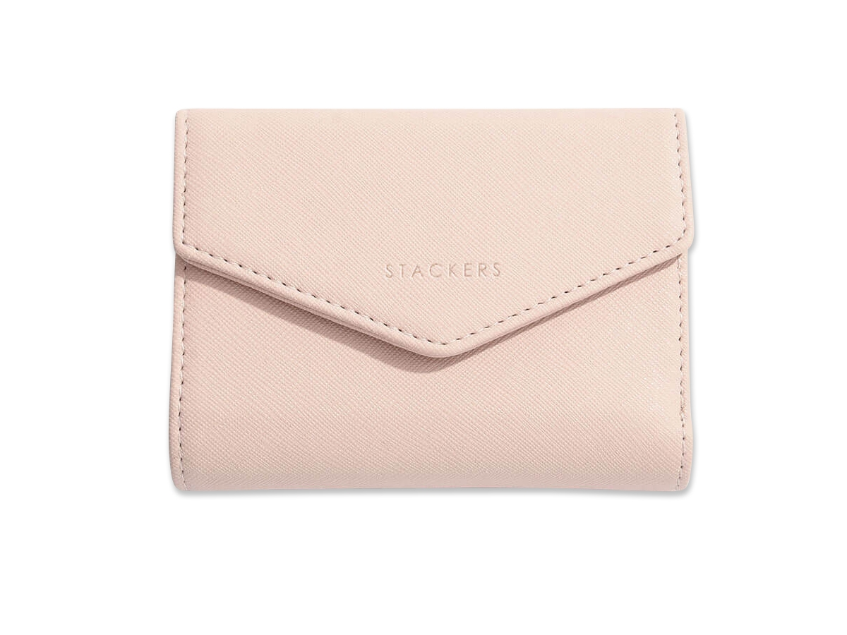 Plånbok Dam Rosa Stackers Blush – utan gravyr