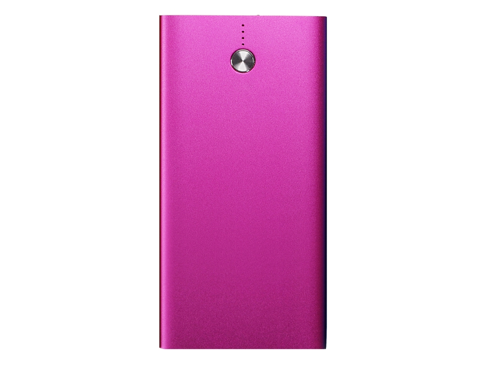 Powerbank Slim Charger 8000 Pink – utan gravyr