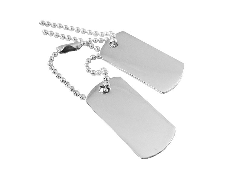 Dogtags Private Sterling Silver ? utan gravyr