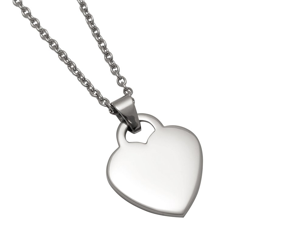 Halsband Hjärta Elise - utan gravyr