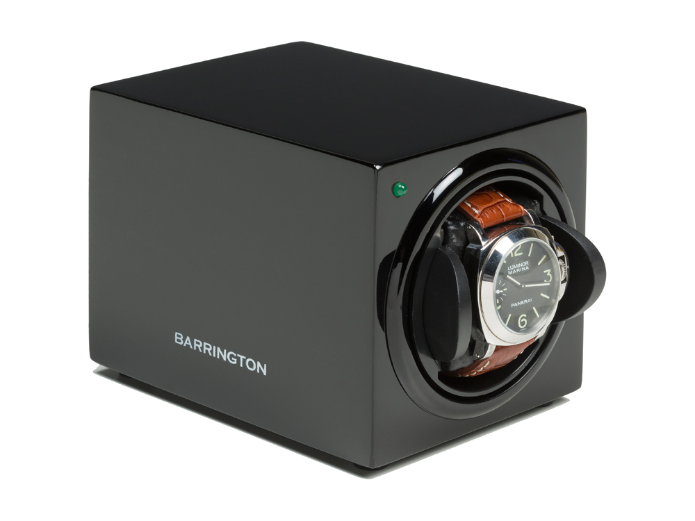 Watch Winder Barrington Single Black – utan gravyr
