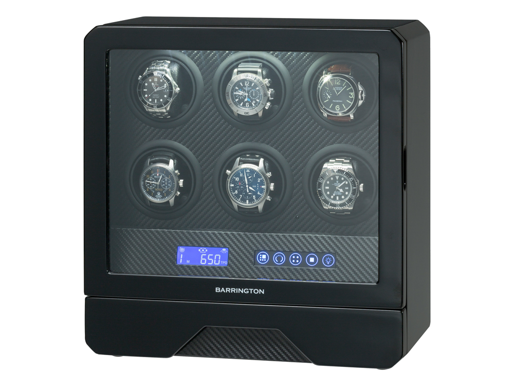 Watch Winder Barrington 6 Six – utan gravyr