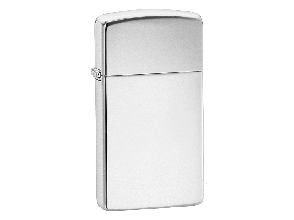 Zippo High Polish Chrome Slim – utan gravyr