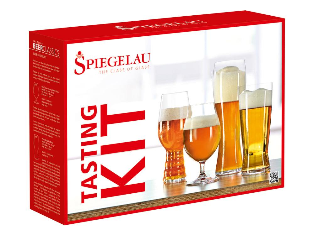 Ölglas Spiegelau Beer Classic Tasting Kit 4-pack – utan gravyr
