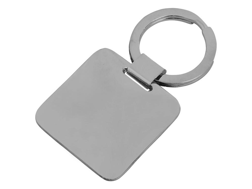 Nyckelring Steel Square Gun Metal – utan gravyr