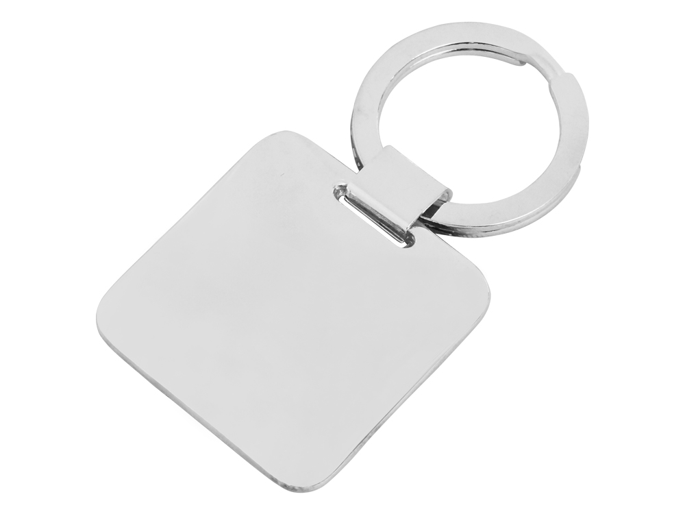 Nyckelring Steel Square – utan gravyr