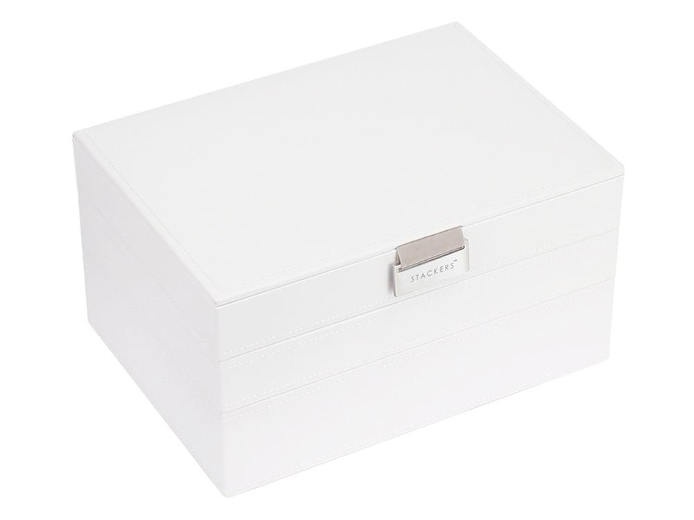 Smyckeskrin Stackers 3-Set White & Grey - utan gravyr