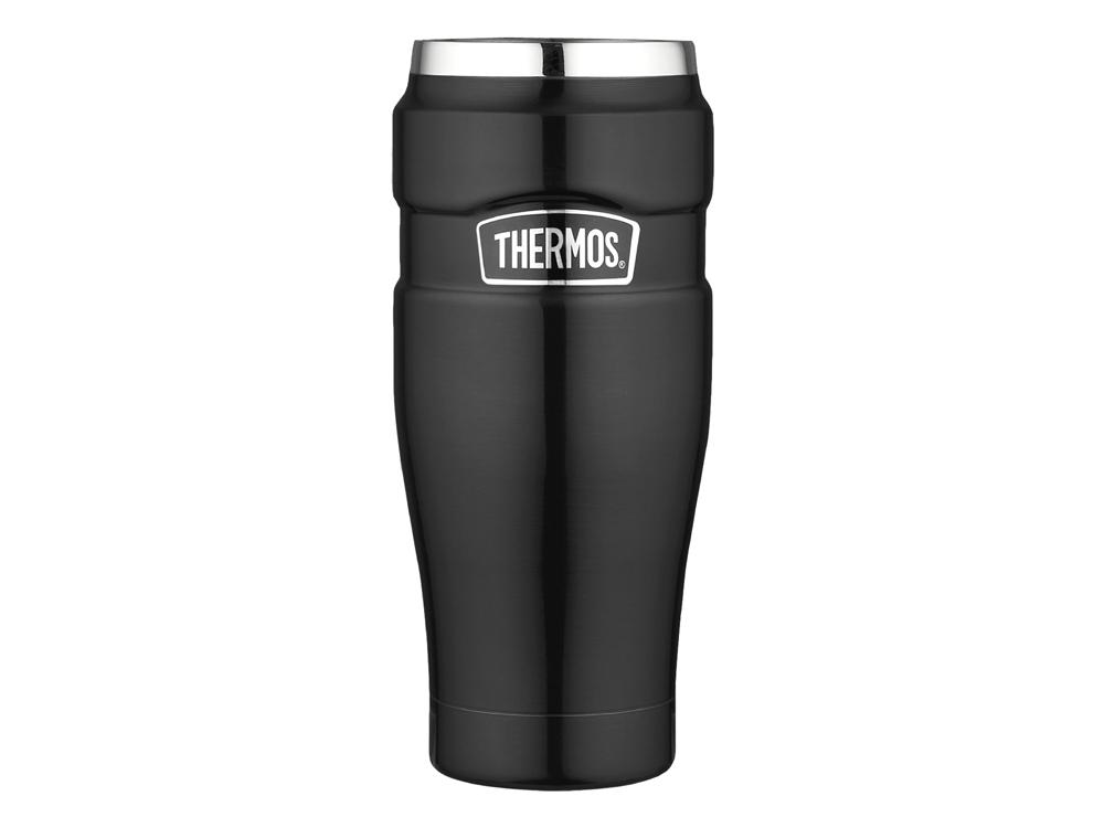 Termosmugg Thermos King Black Original 0,5 Liter – utan gravyr
