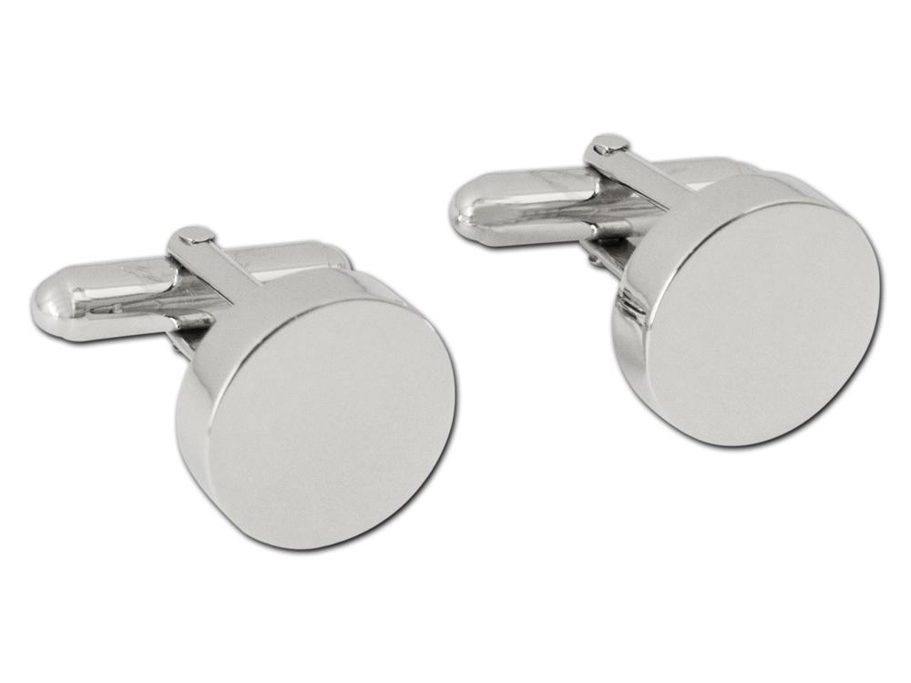Manschettknappar Silver Vicenza ? utan gravyr