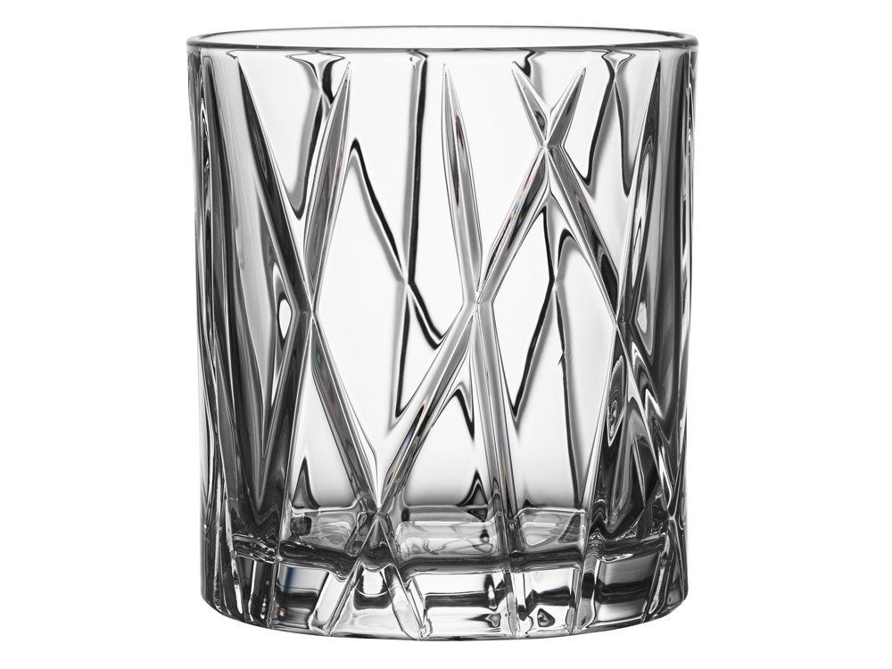 Whiskyglas Orrefors City OF 4-pack – utan gravyr